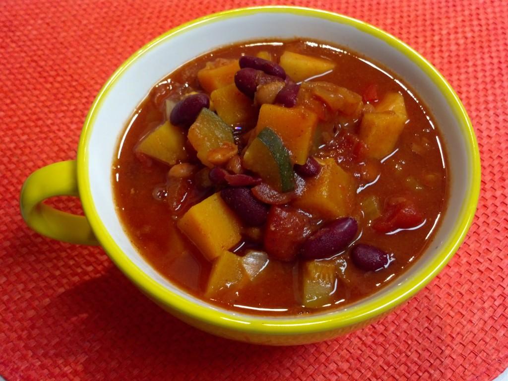 butternut squash chili 2