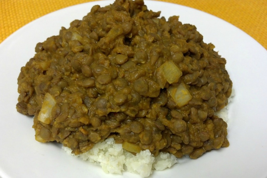 friday favorite butternut curry lentils