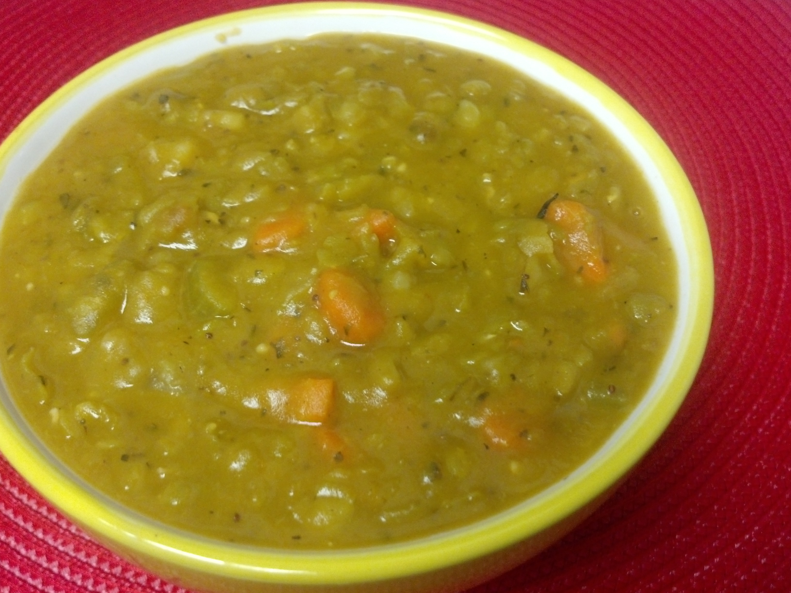 friday favorite split pea soup