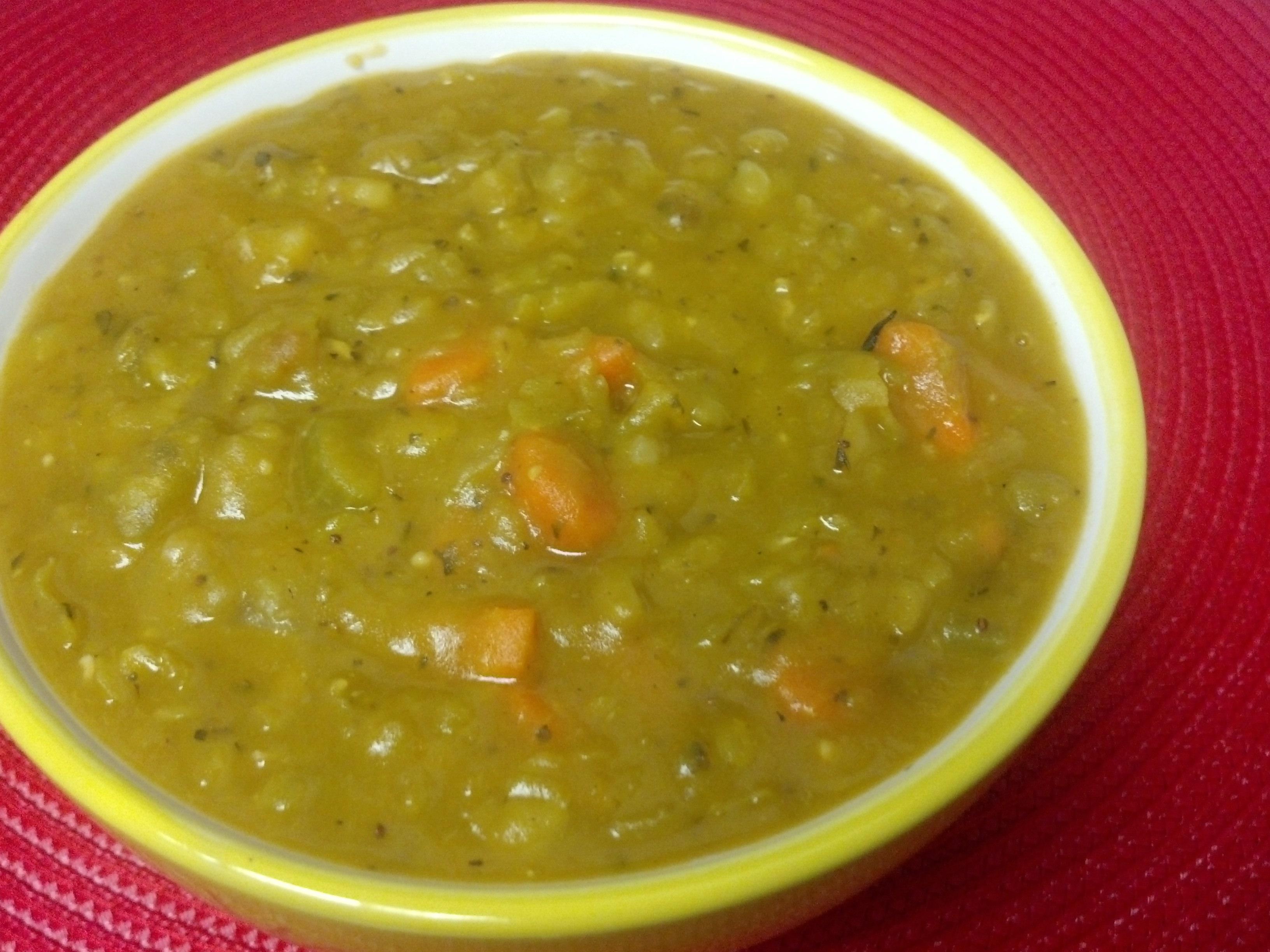 split pea soup vegetarian split pea soup vegan split pea and sweet ...