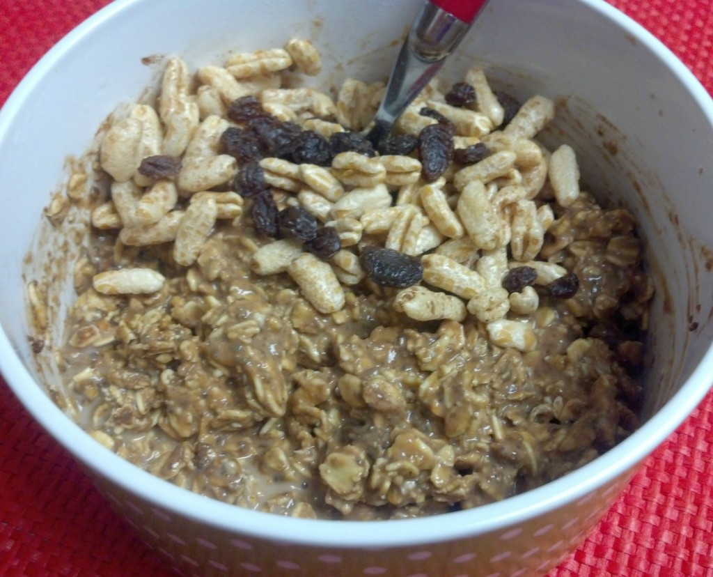 pumpkin cocoa overnight oats 2
