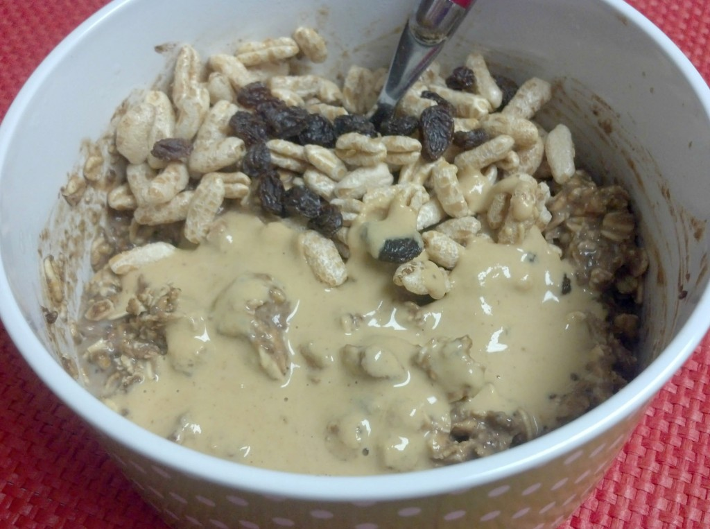 pumpkin cocoa overnight oats 3