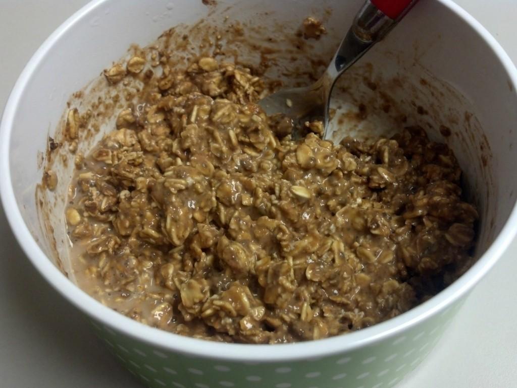 pumpkin cocoa overnight oats 4