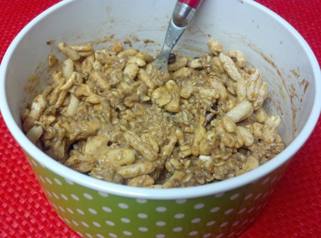 pumpkin cocoa overnight oats 8y