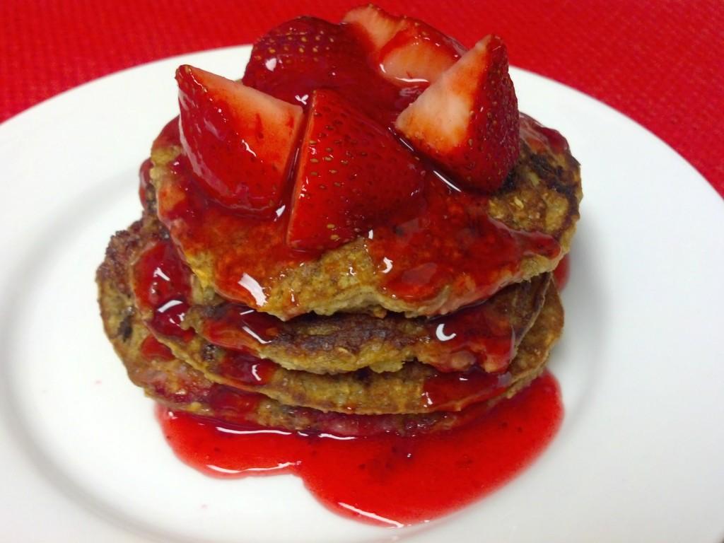 strawberry banana pancakes 5