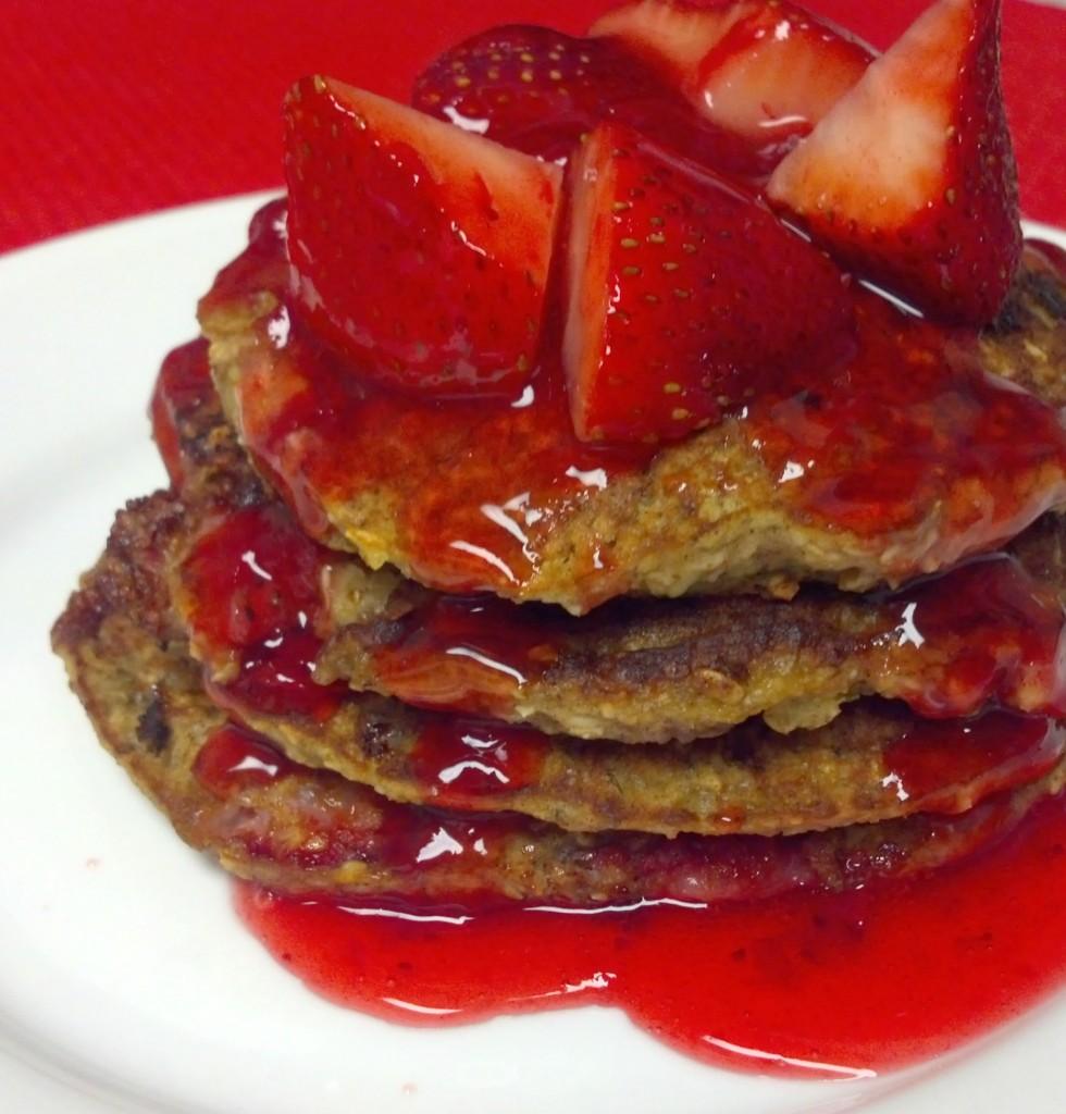 strawberry banana pancakes 6