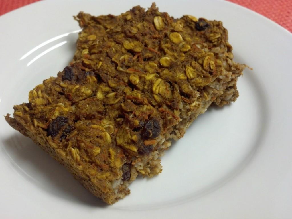 carrot cake oatmeal bake2