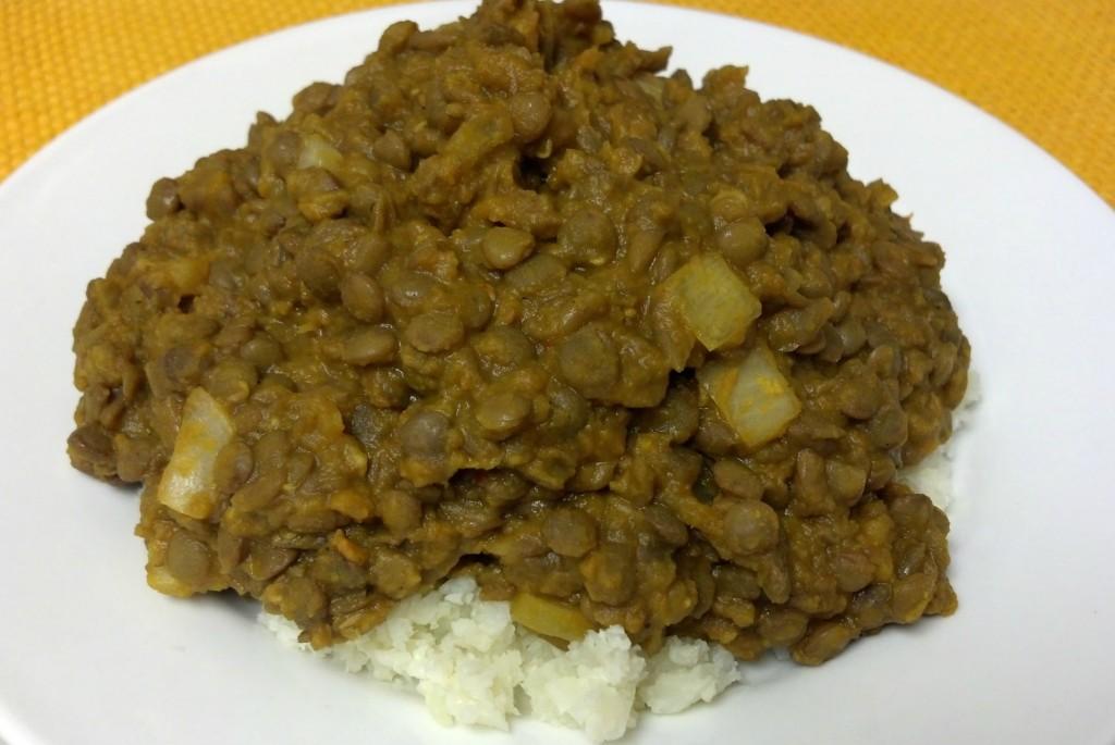 friday favorite butternut curry lentils
