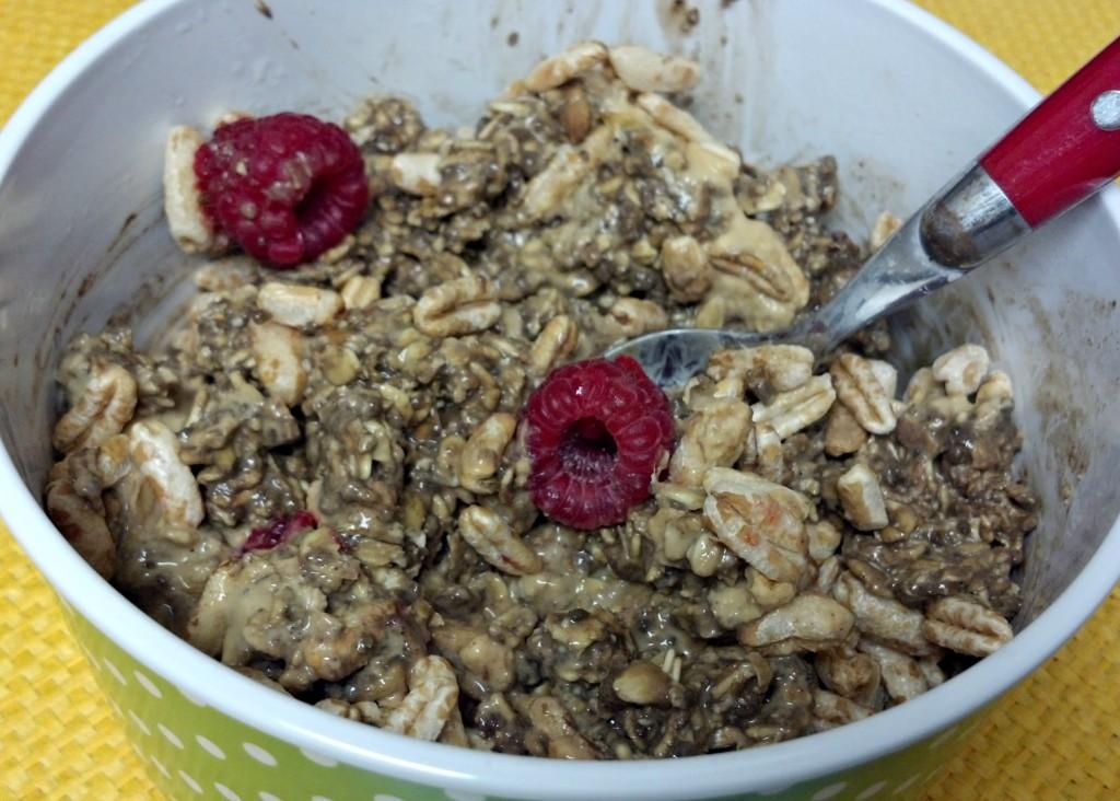 gingerbread overnight oats 7