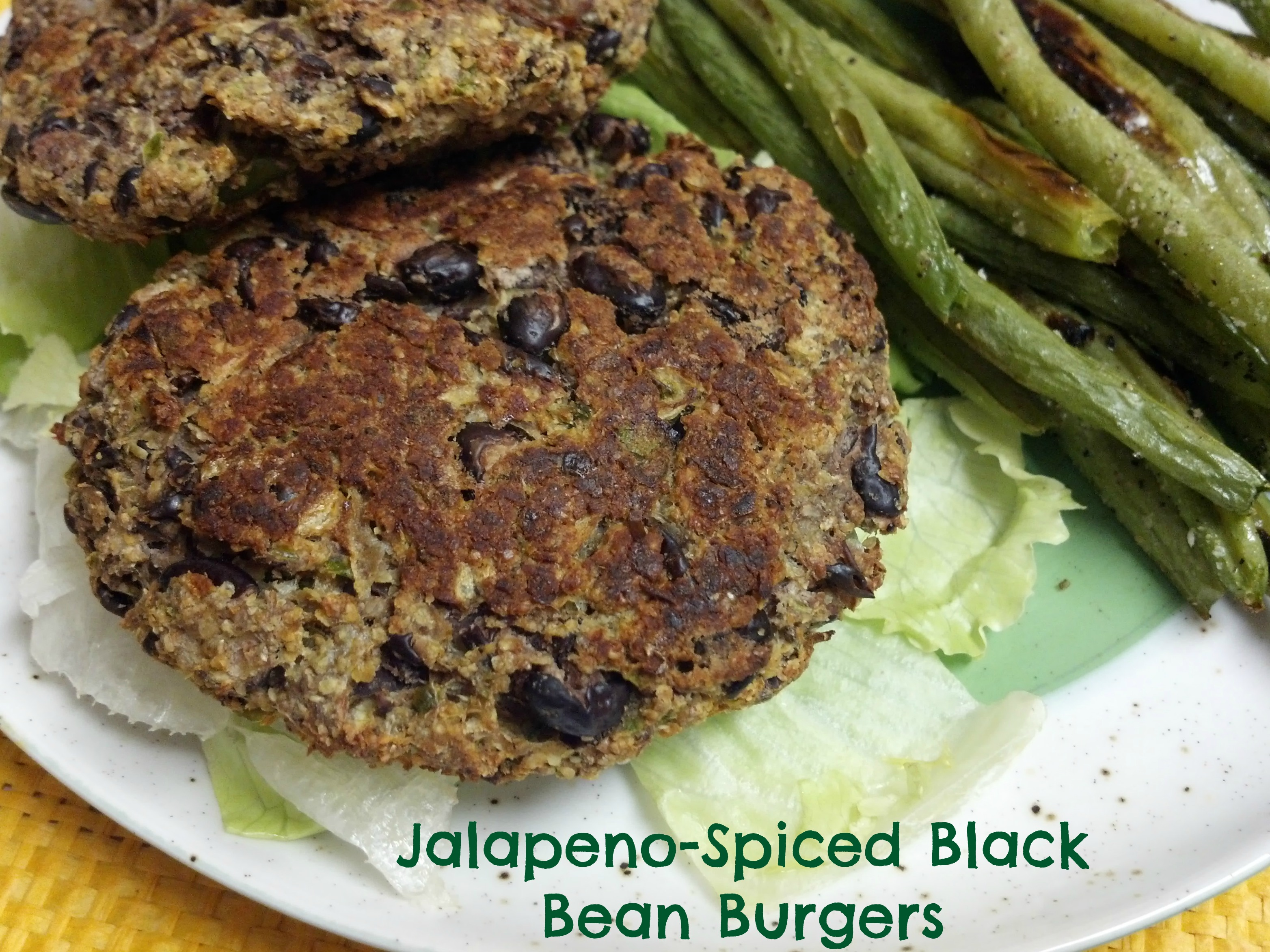 ... Wine Turns 1!: Featuring Jalapeno-Spiced Black Bean Burgers
