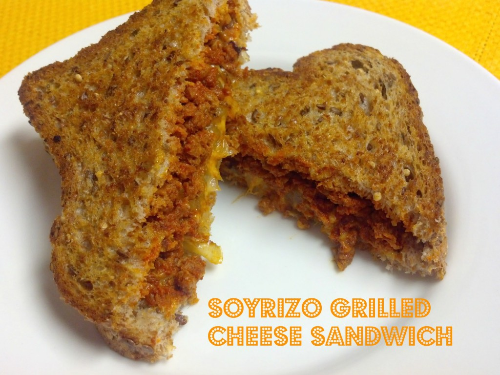 soyrizo grilled cheese 3