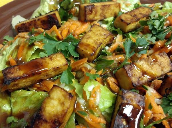 tofu banh mi salad 4