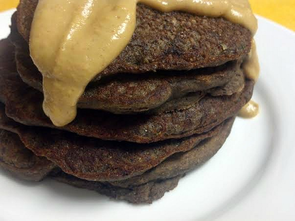 chocolate zucchini bread pancakes 4