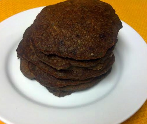 chocolate zucchini bread pancakes 7