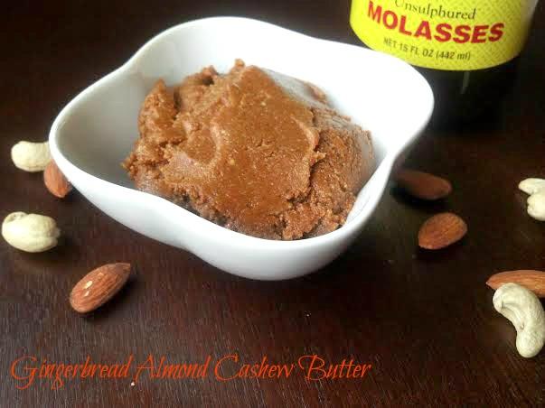 gingerbread almond cashew butter 4