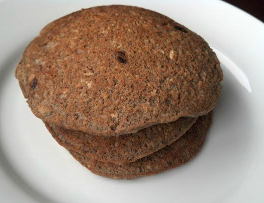 oatmeal raisin pancakes 6
