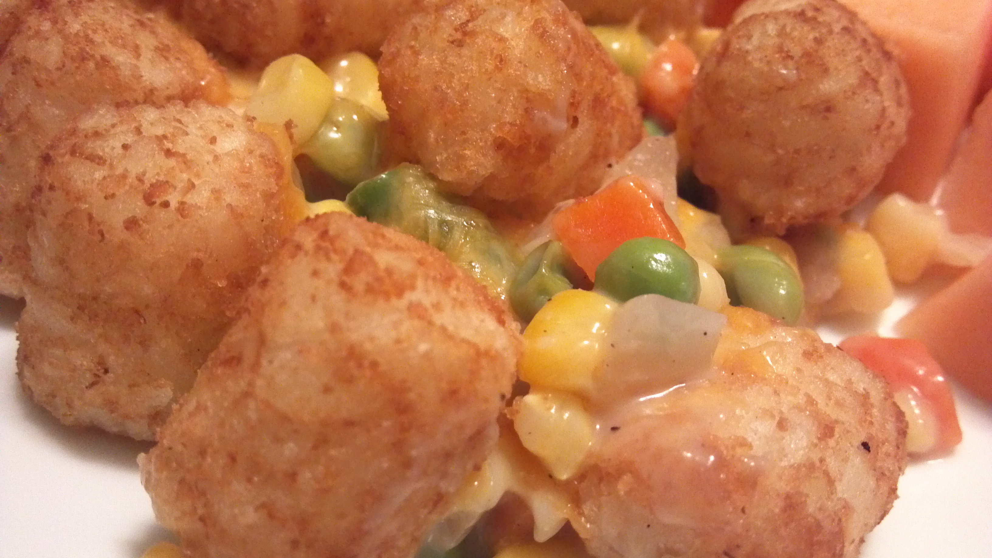 tater tot casserole 2 - Clean Eating Veggie Girl