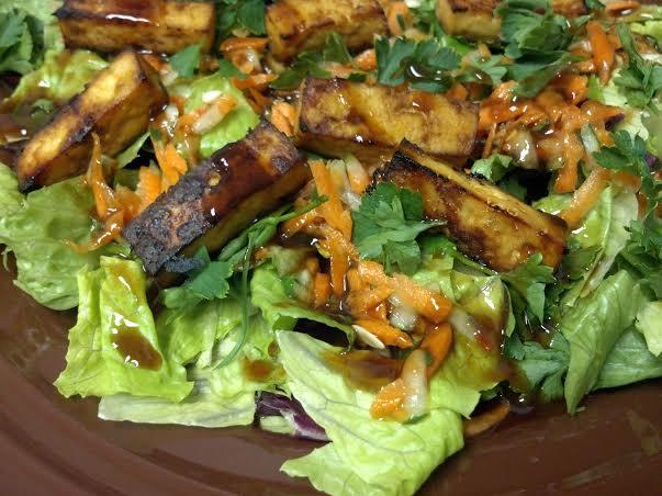 tofu banh mi salad 8