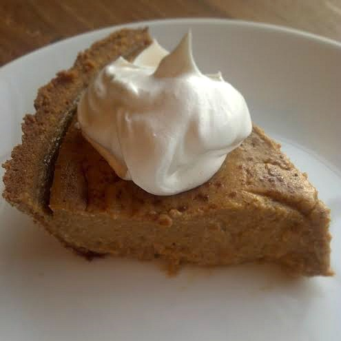 vegan pumpkin pie 4