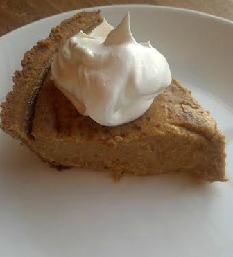 vegan pumpkin pie 6