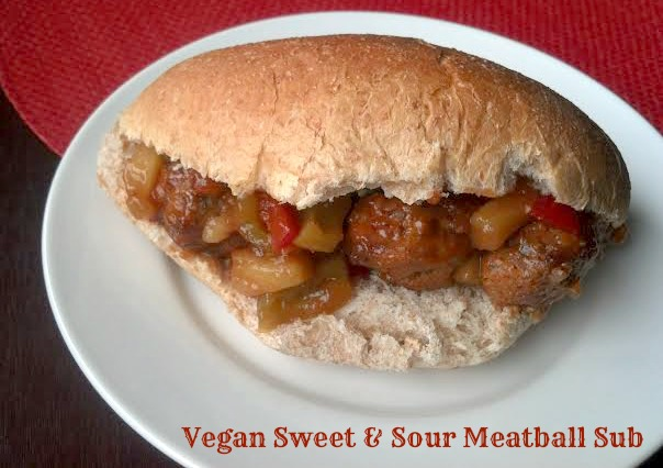 sweet and sour meatball sub 5