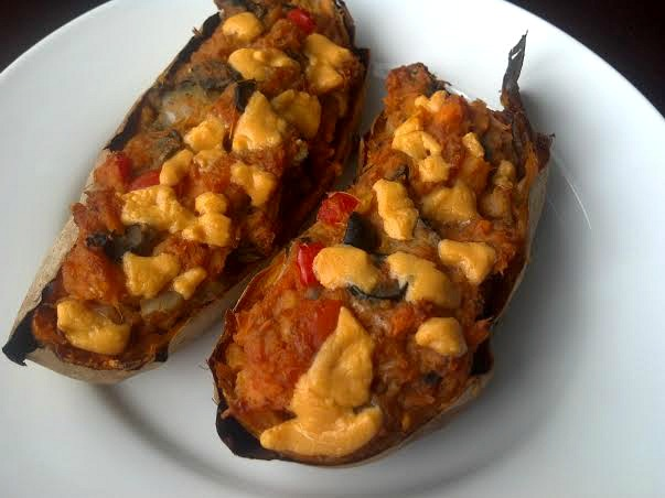 twice baked pizza potato 8y