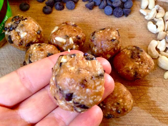 chocolate chip cookie dough balls2