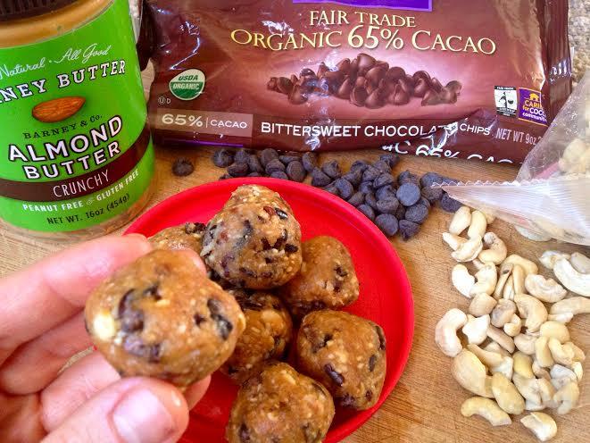 chocolate chip cookie dough balls3