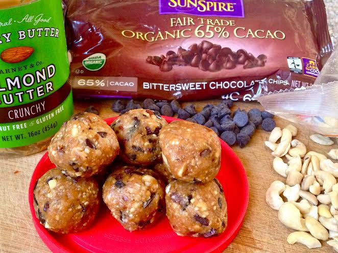 chocolate chip cookie dough balls4