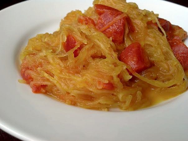 curried spaghetti squash 3