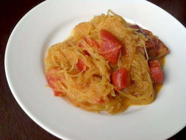 curried spaghetti squash 4