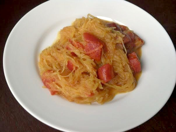 curried spaghetti squash 5