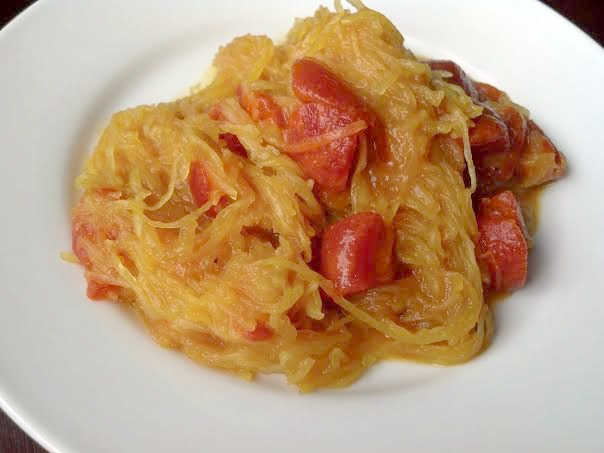 curried spaghetti squash 6y