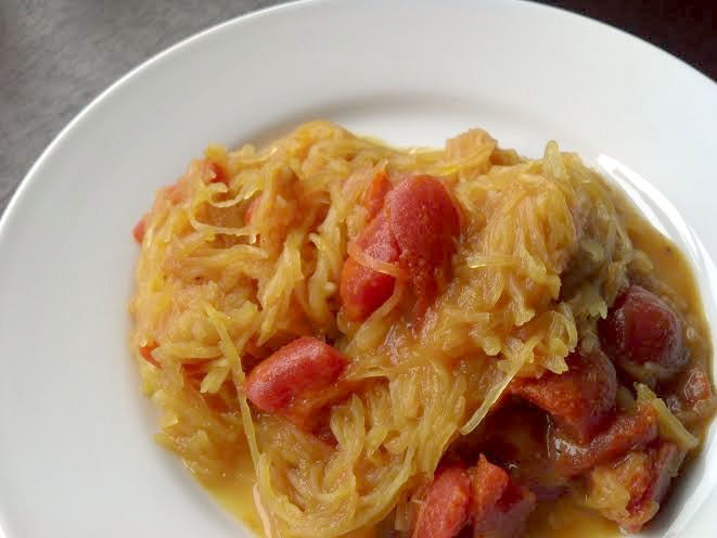 curried spaghetti squash