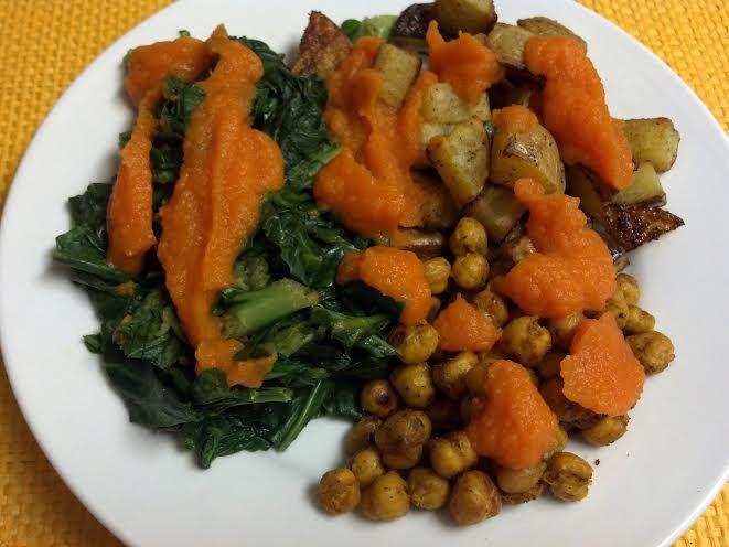 friday favorites carrot ginger potato bowl