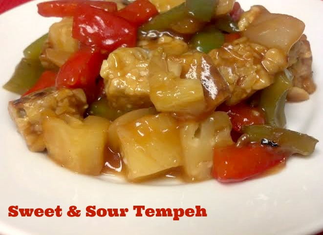 sweet sour tempeh 2