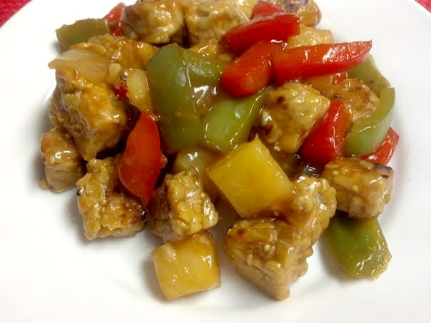 sweet sour tempeh 3