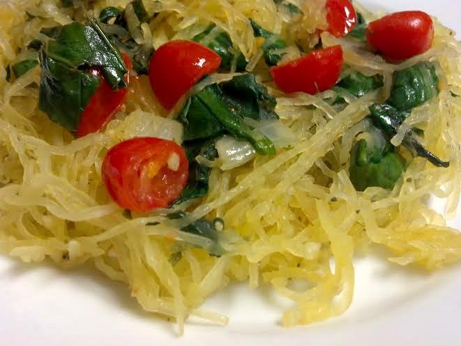 tomato basil spaghetti squash 3