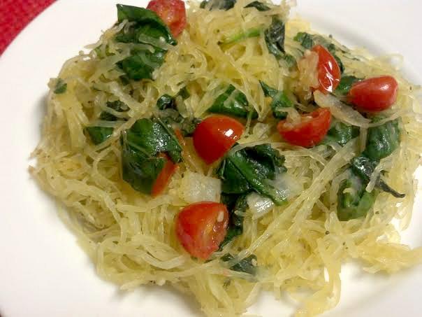 tomato basil spaghetti squash 4