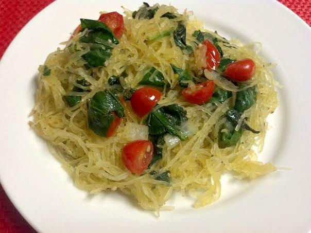 tomato basil spaghetti squash 5