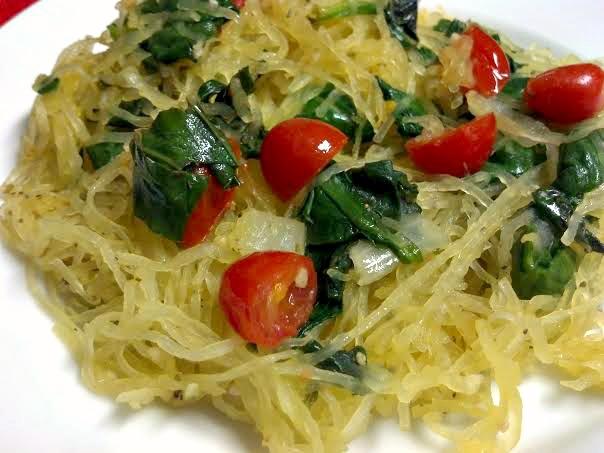 tomato basil spaghetti squash 6