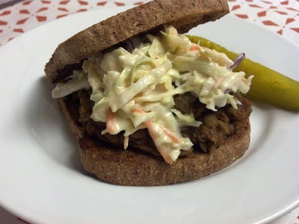 bbq lentil sandwich 2