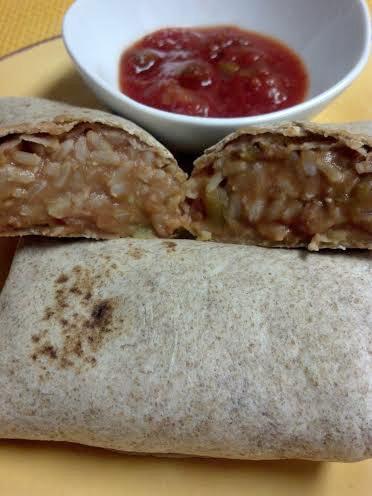 friday favorites refried bean burritos