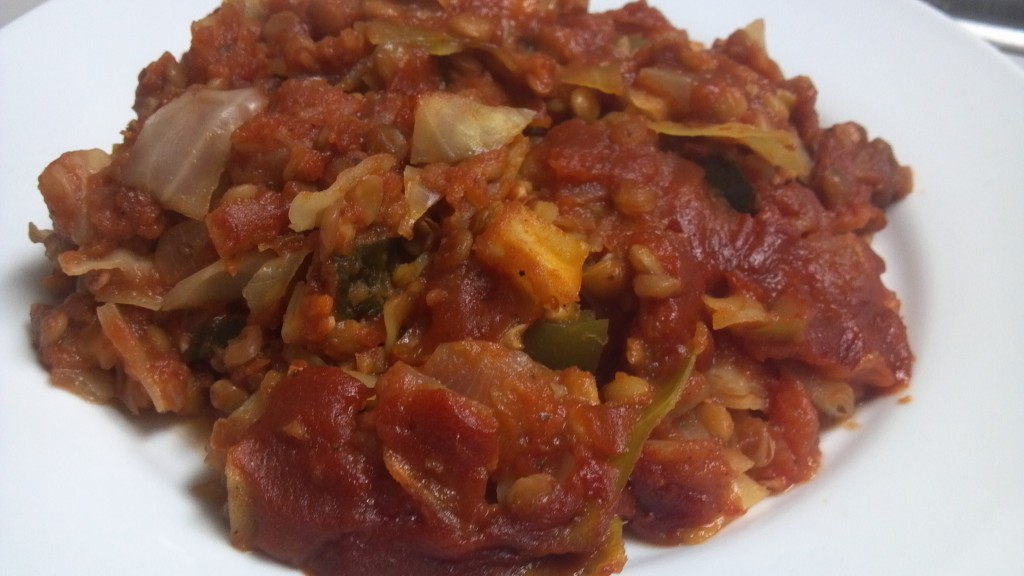 lentil cabbage casserole 2