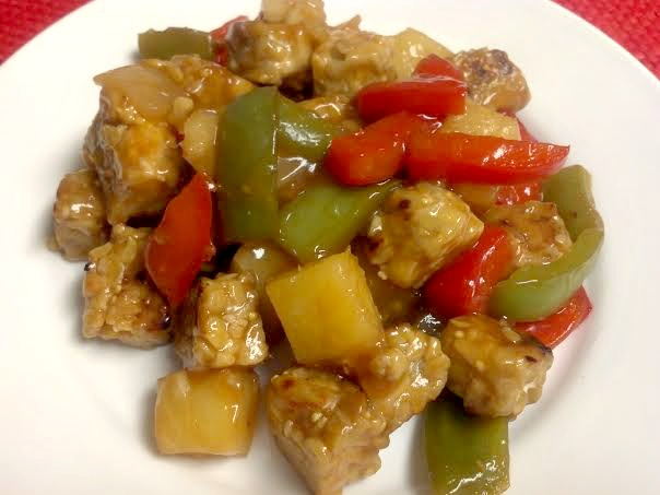sweet sour tempeh 5
