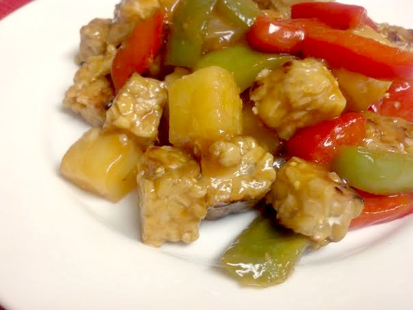 sweet sour tempeh 9