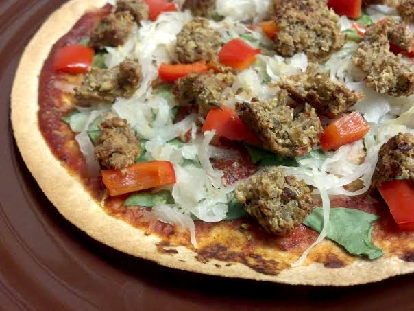 tortilla meatball pizza 5