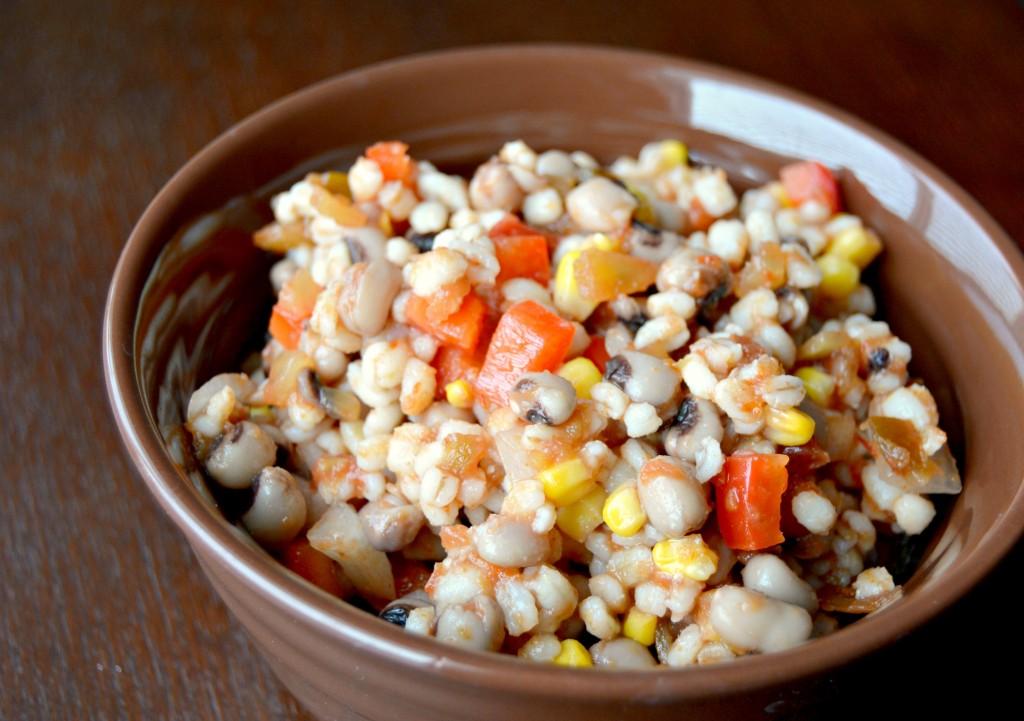 Mexican barley salad 2