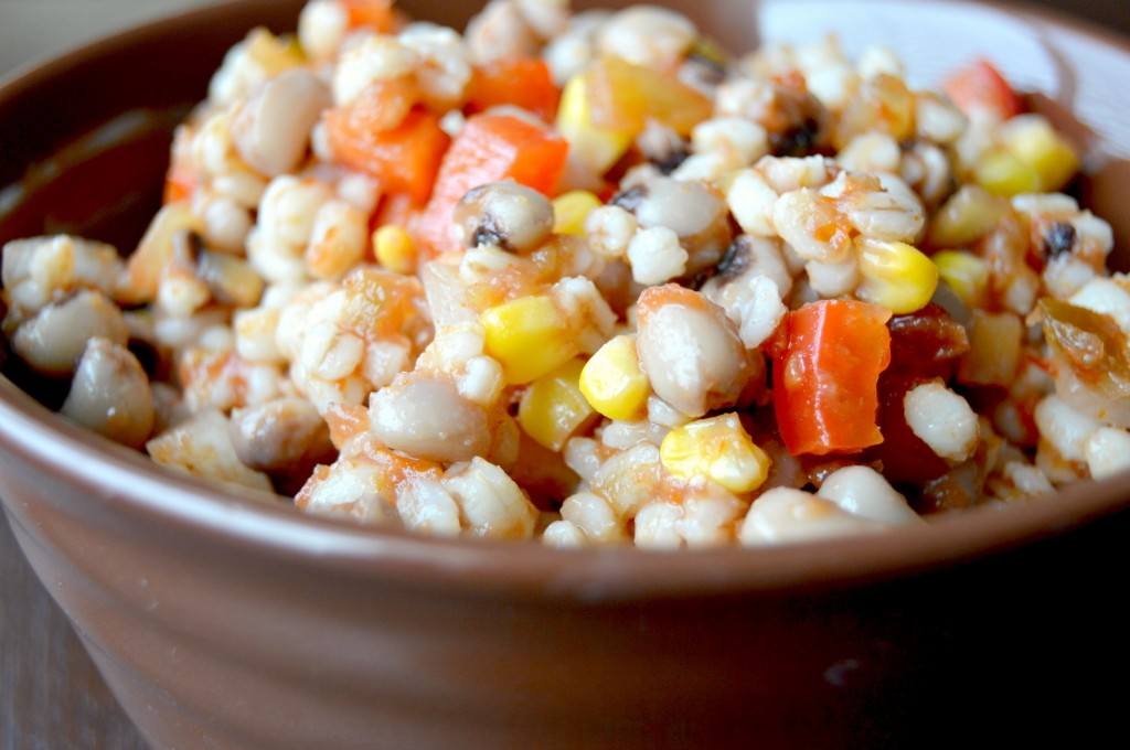 Mexican barley salad 3