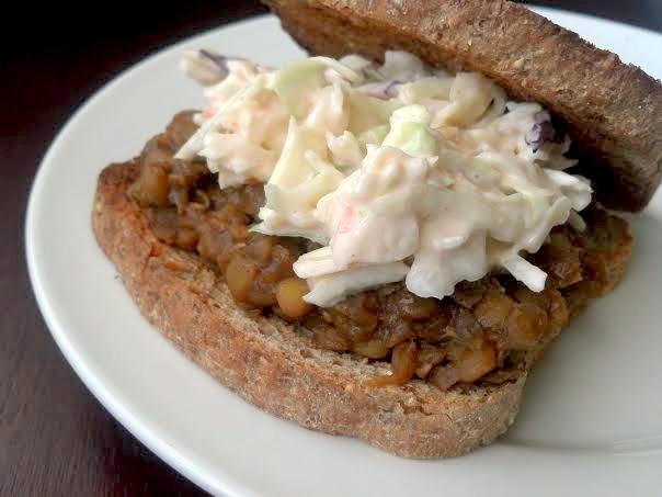 bbq lentil sandwich 11y